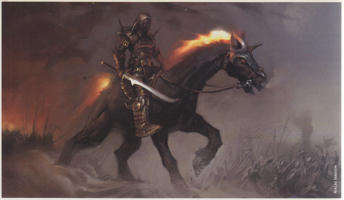 "Black unicorns also frequently appear in games. Black Unicorn, aslo called as ""Nightmare"" in Dungeons and Dragons has the negative stereotype. They will never serve a good character."