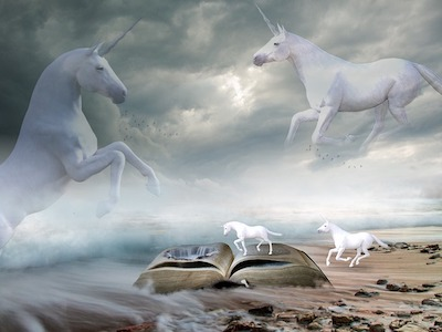 Can Unicorns Fly? Not originally, but they are evolving. And time is changing.