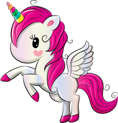 Unicorns can fly these days. They are still evolving and wings are not nessecery for flying any more on these days.