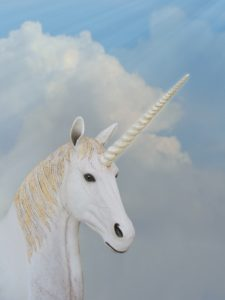 Unicorn horn looks like unicorn own wand - for the magic and protection.