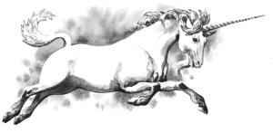Unicorn horns are said to extend lives and offer protection from bad luck.