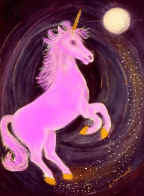 Pink Unicorn. The variety and proness to change is one of the reasons the LGBT community likes unicorns.