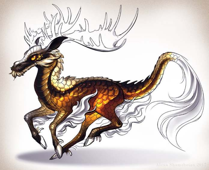 Digital Arts - The Qilin