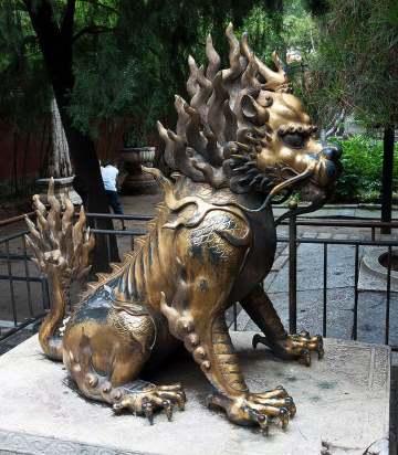 Statue of Qilin