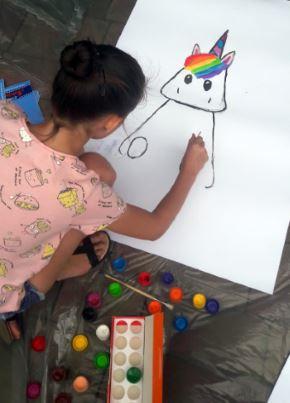 Unicorn & Rainbows as the symbols for LGBTQ+ community