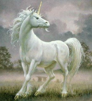 White Unicorns Appearing in dreams are usually a sign of positive things to happen.