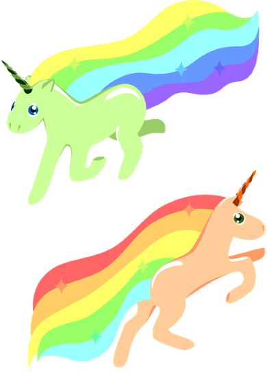 Unicorns can help battle insecurities and push yourself out of comfort zone