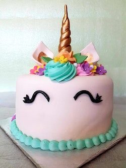 Unicorn cake is just one sample as the result of the unicorn trend.