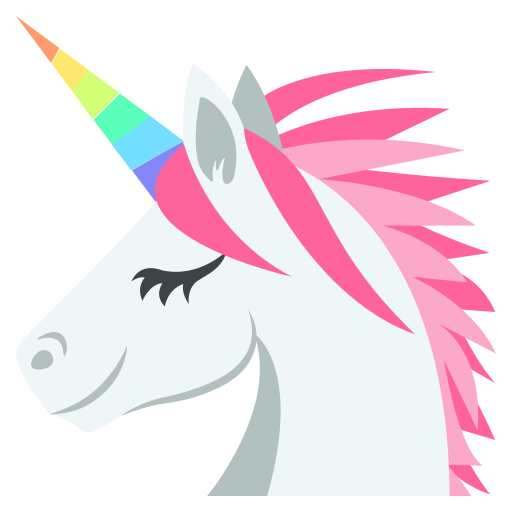 Unicorn Emoji - it can have so many different meanings