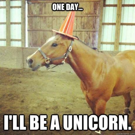 One day I´ll be a unicorn