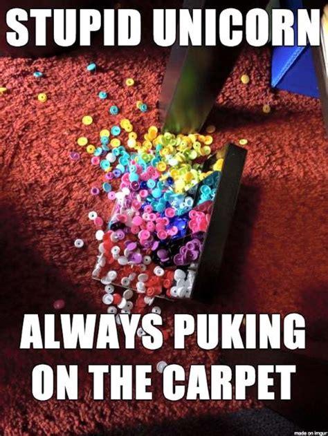 Stupid Unicorn Always Puking On The Carpet