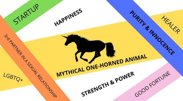 Unicorns have so many different meanings in today`s world