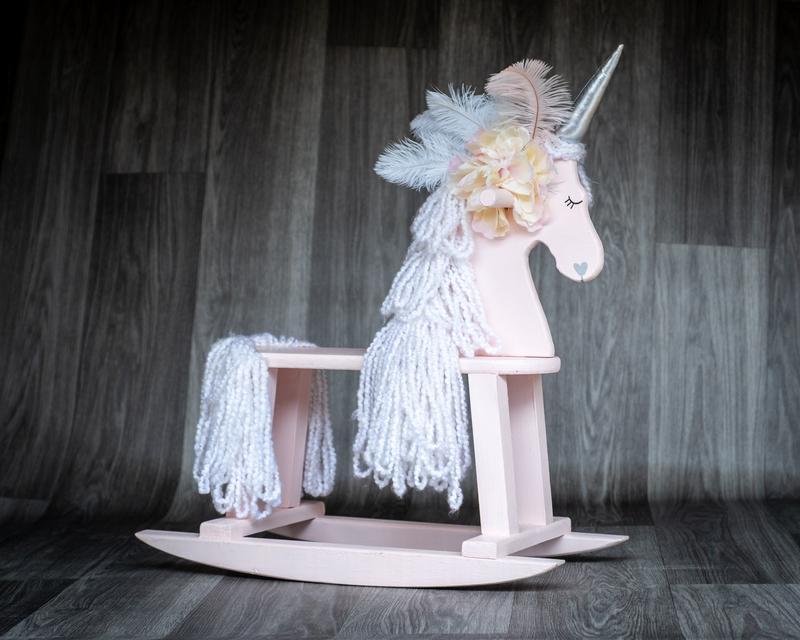 Emily Janelle Glitter Rocking Unicorns
