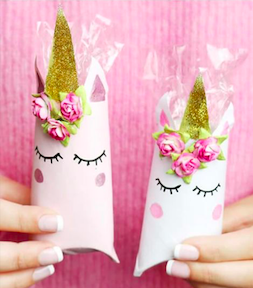 Unicorn Gift Wrapping idea for small gifts