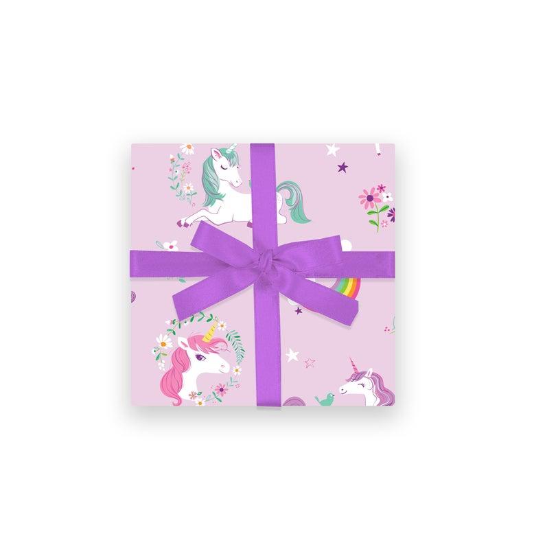 Beautiful purple rainbow gift